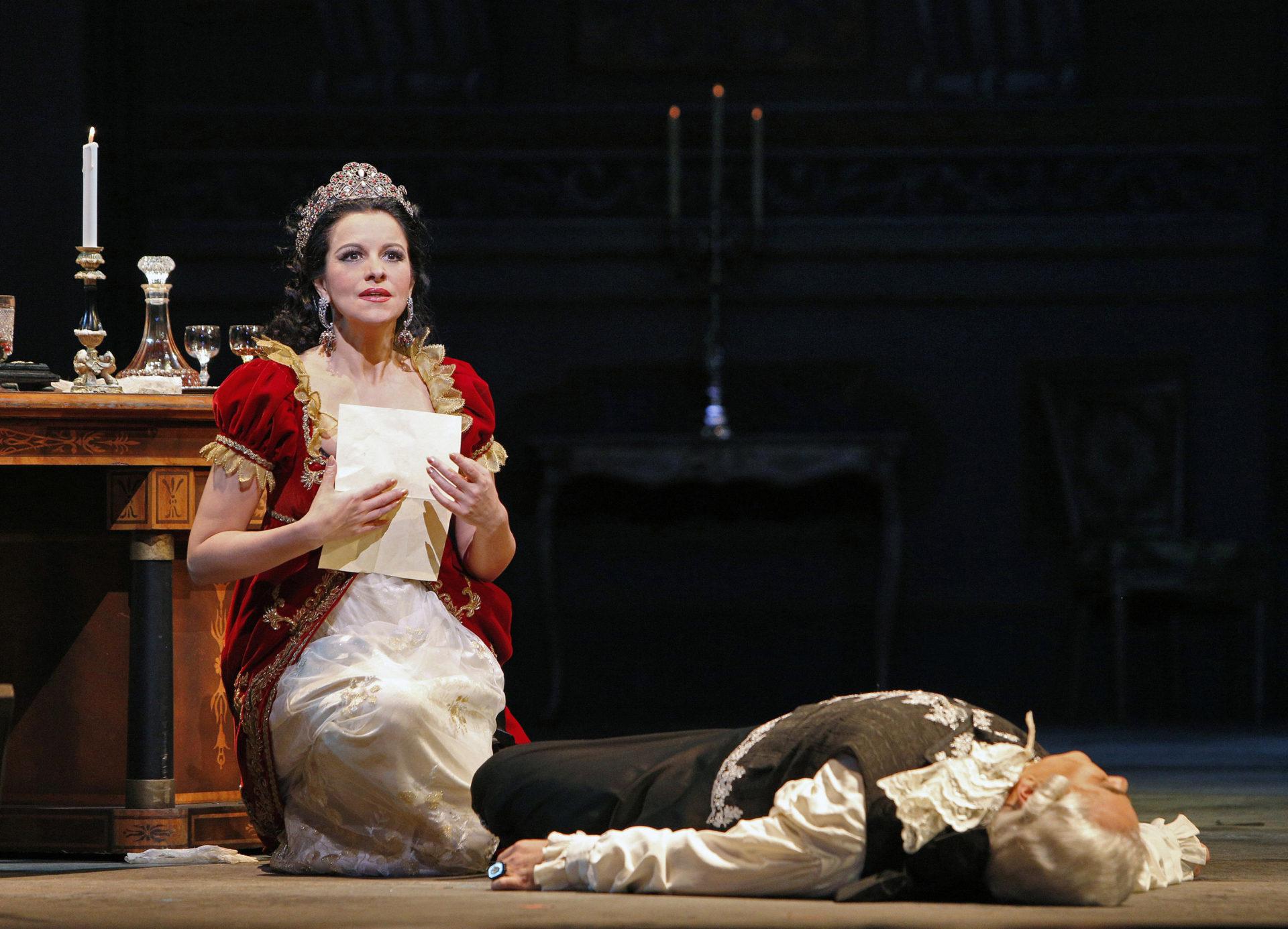 Mi-a părut rău că nu o cunoscusem pe Tosca