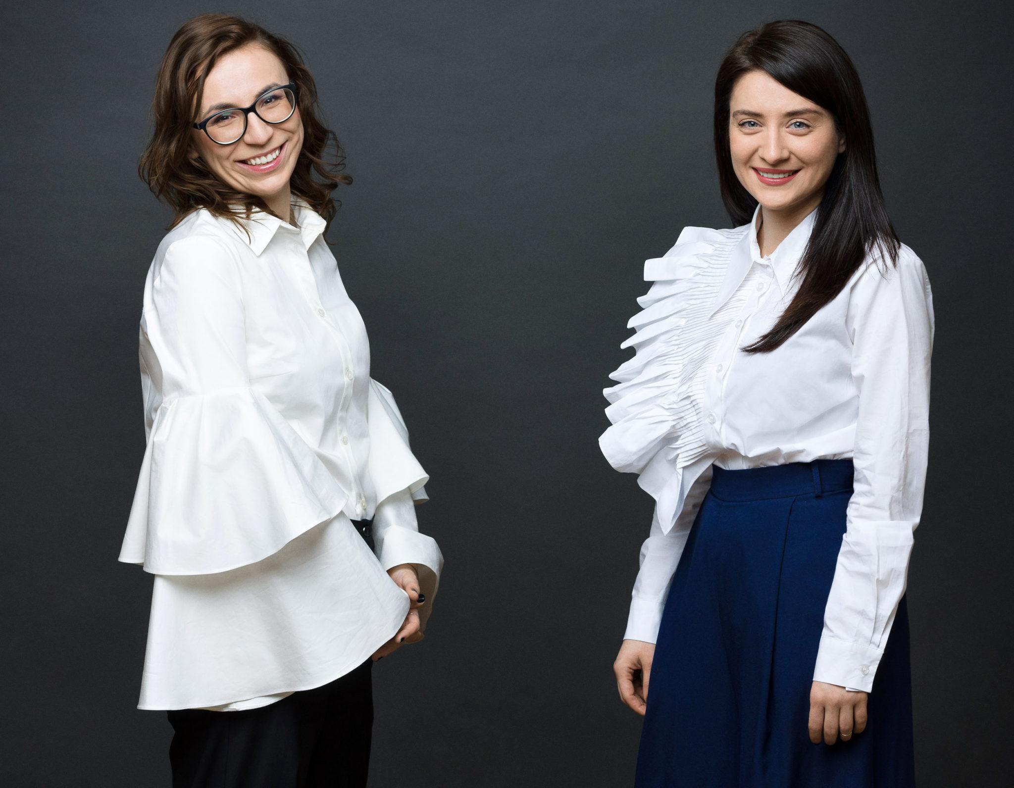 Anca Baniță și Anamaria Hâncu