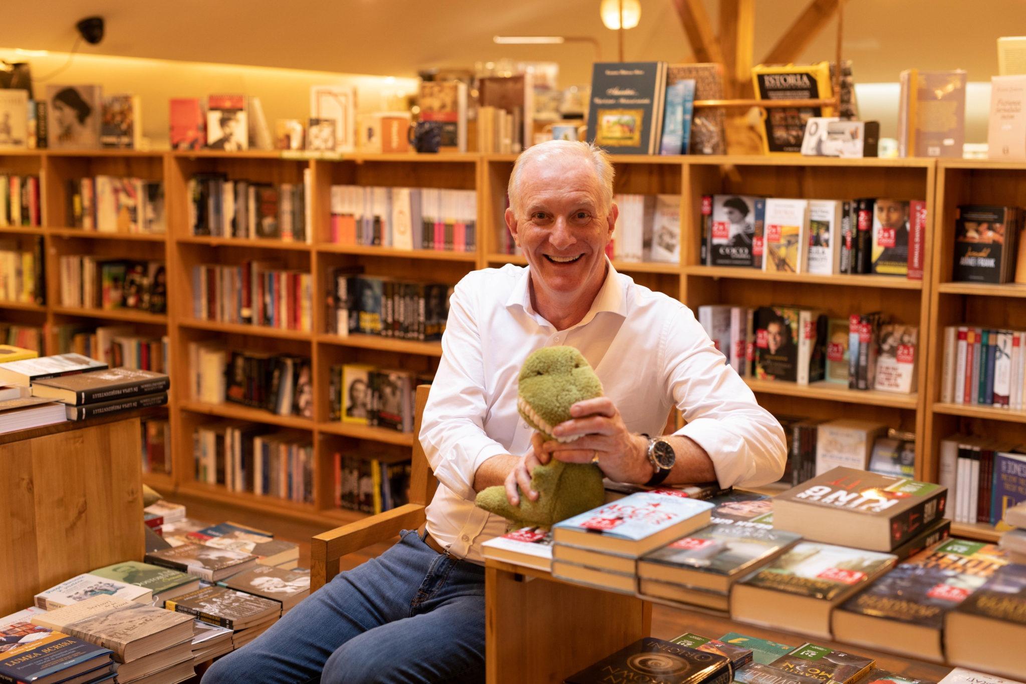 Ian Worboys, omul de afaceri care scrie cărți pentru copii