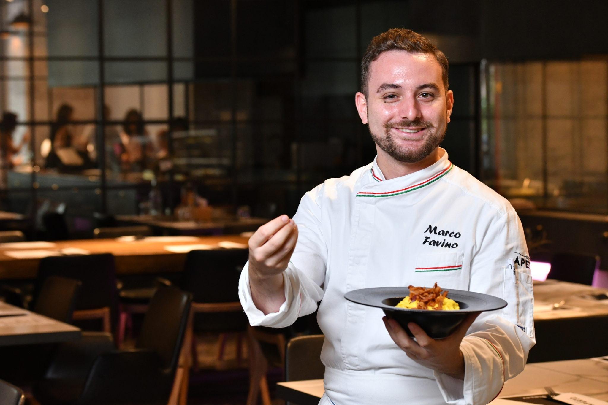 Chef Marco Favino