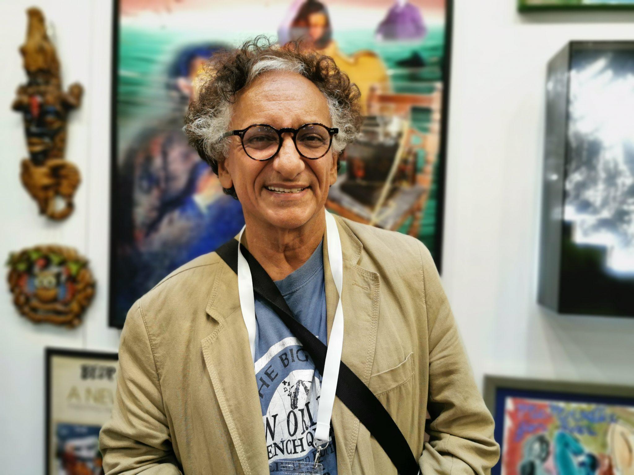 Bedri Baykam, artistul care a creat Harta Istoriei Artei în 50 de ani și 6 luni