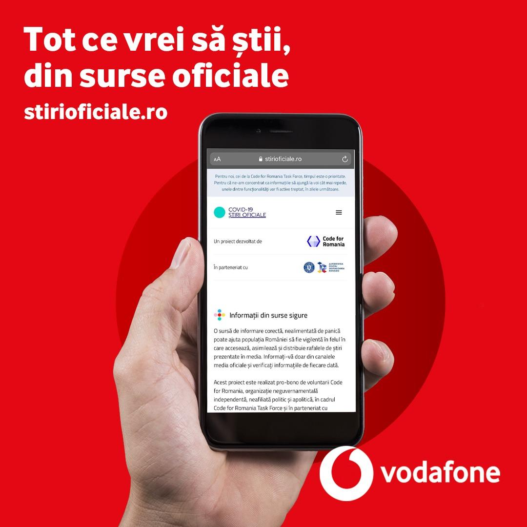 Măsurile luate de Vodafone în gestionarea crizei fără precedent din România