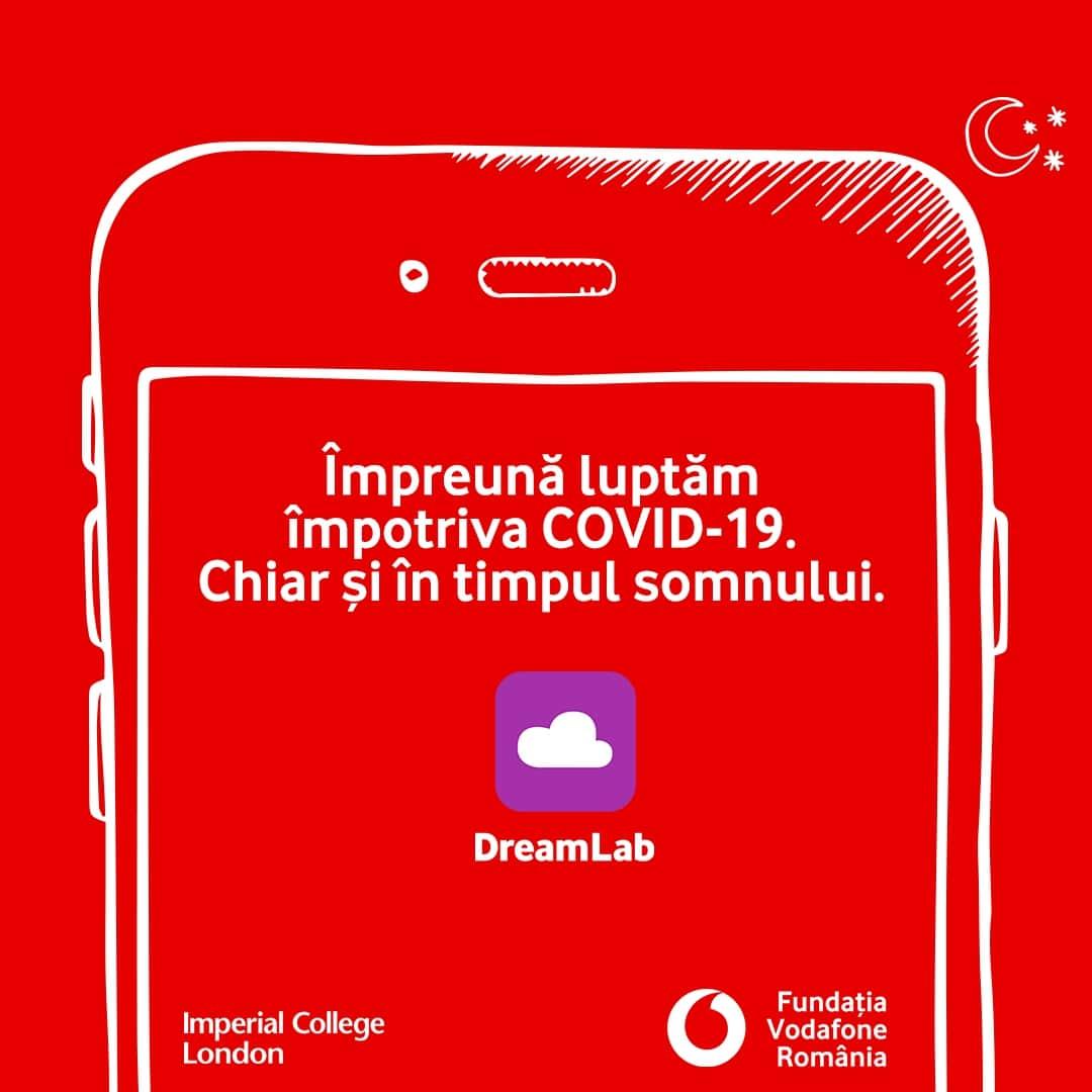 Împreună luptăm împotriva Covid 19 prin aplicația DreamLab
