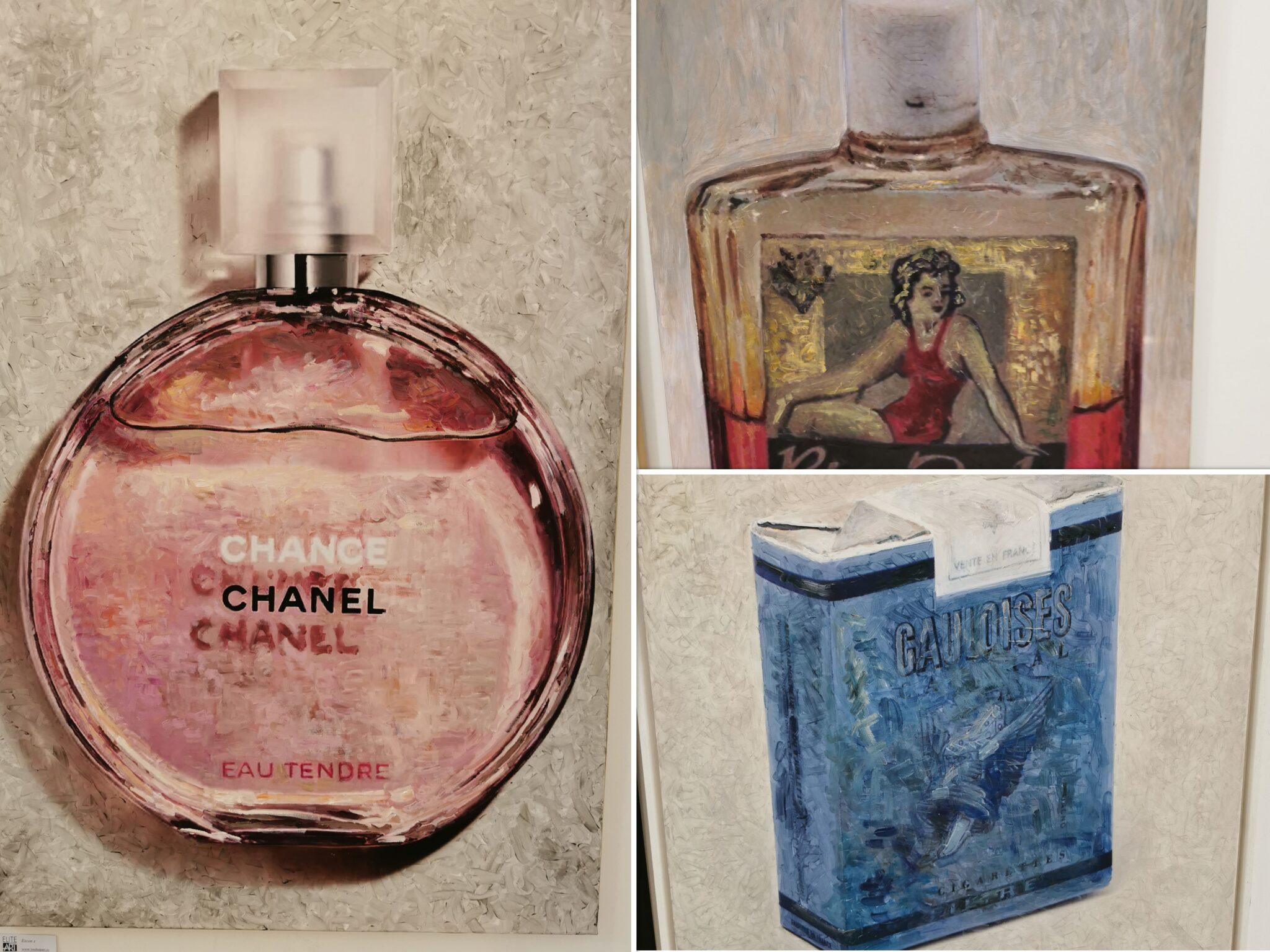 Între Chanel și Bronzol în expoziția lui Christian Paraschiv la Elite Art Gallery