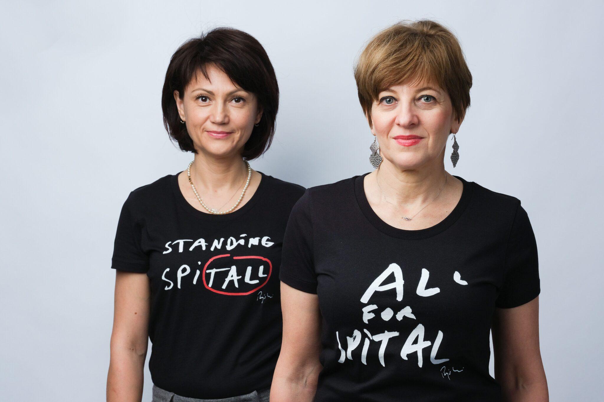 Carmen Uscatu și Oana Gheorghiu
